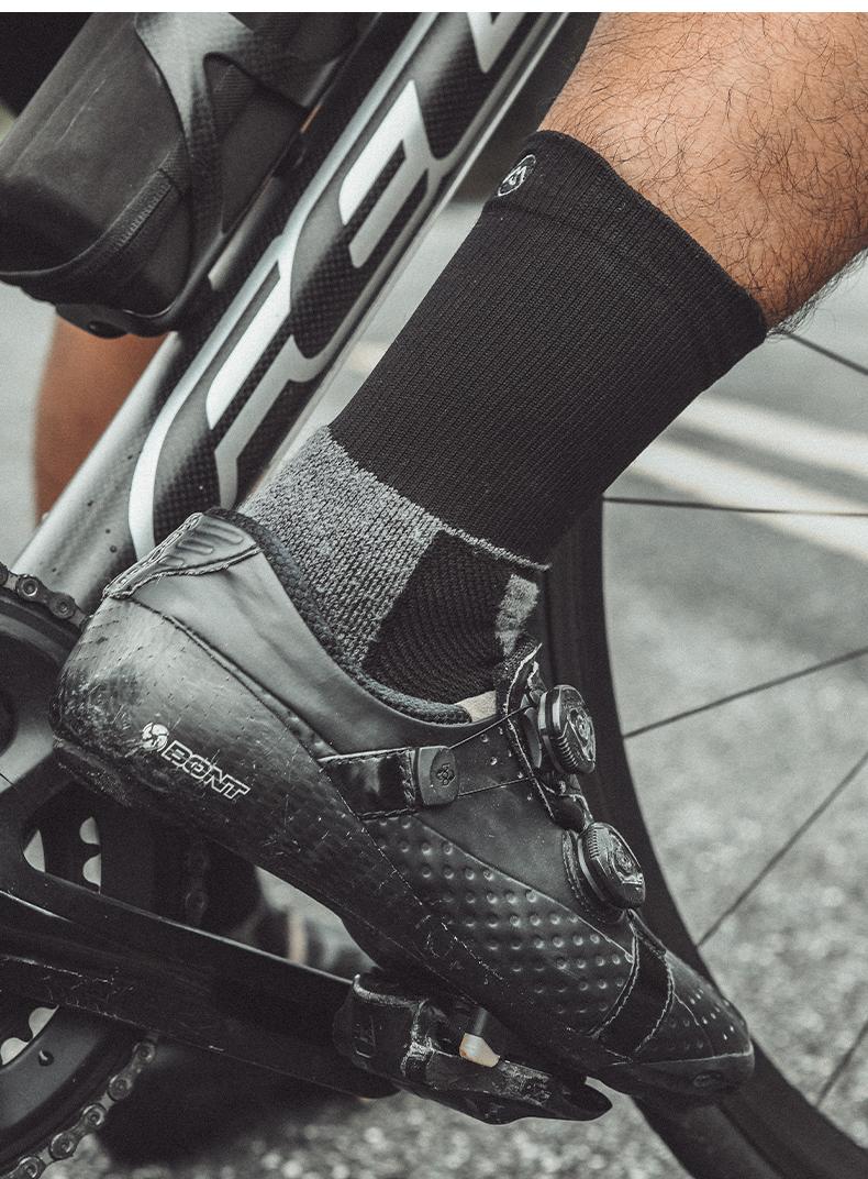 cycling merino socks