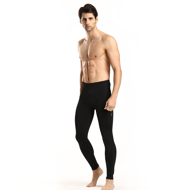 Men's Cycling Tights Padded on Model