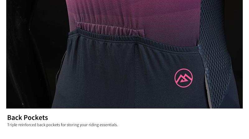 triple back pockets