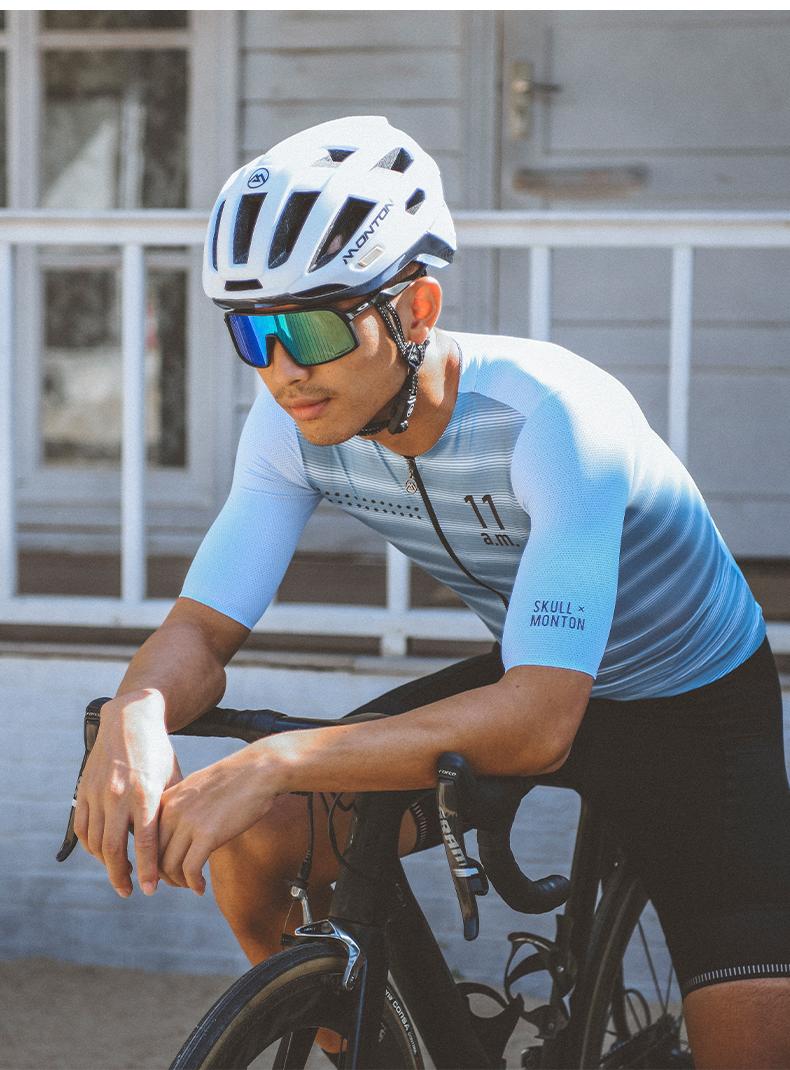 thin blue line bike jersey