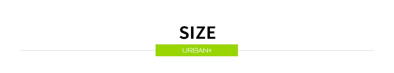 Urban+ size