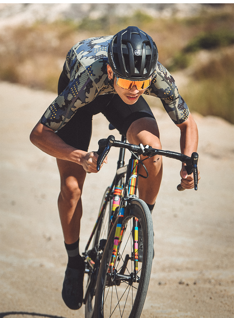 camouflage cycling kit