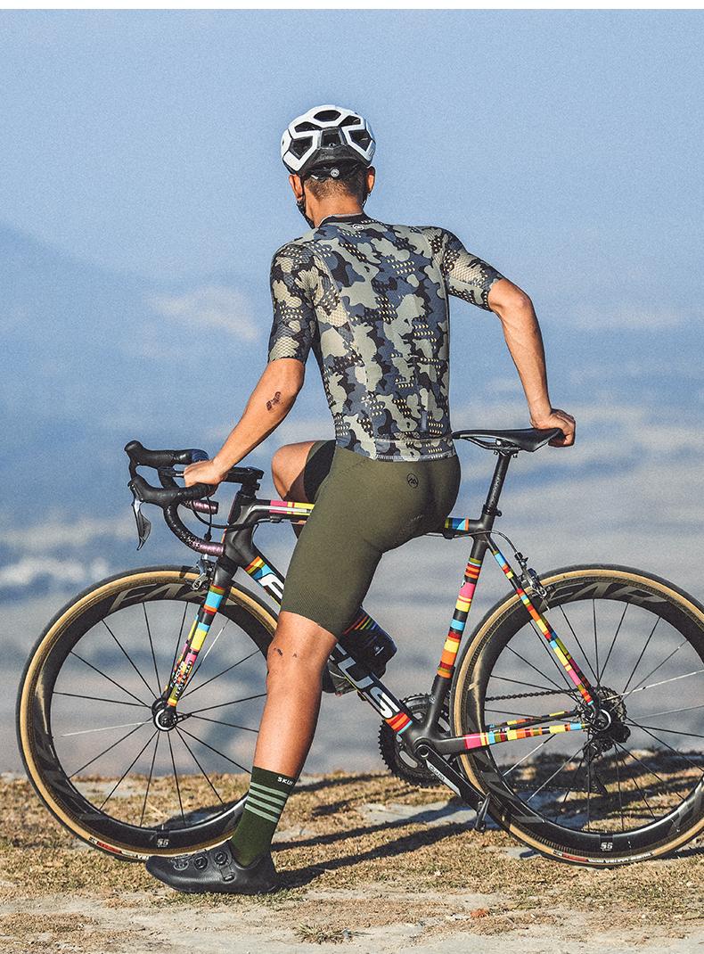 camouflage bike jersey