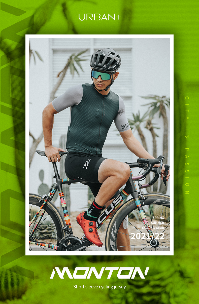 full zip cycling jersey