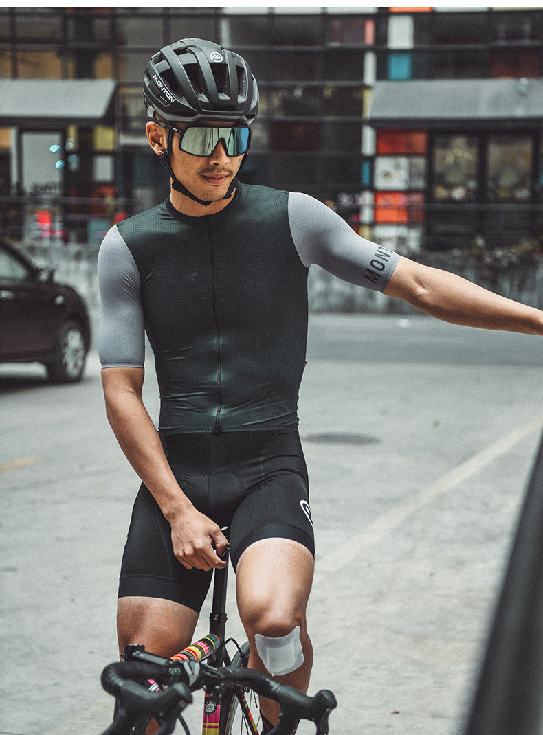 compression cycling jersey