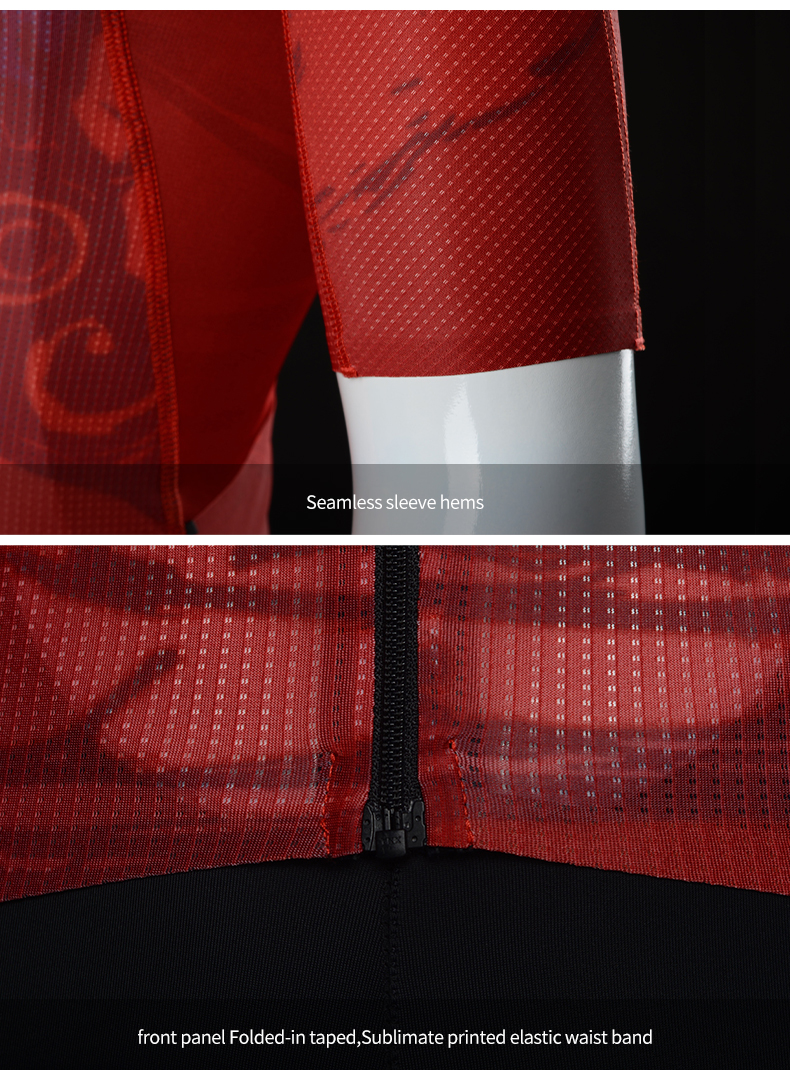 sleeves and waist band