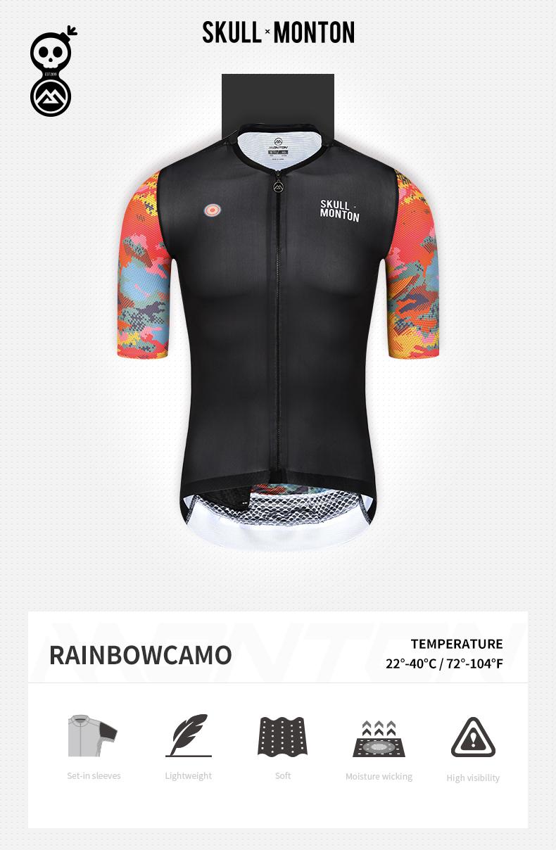black cycling jersey