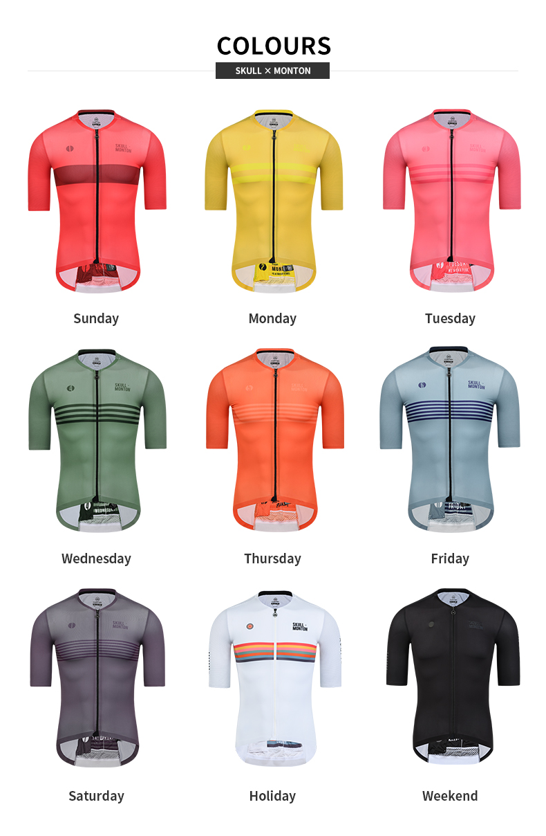 skull monton cycling jerseys