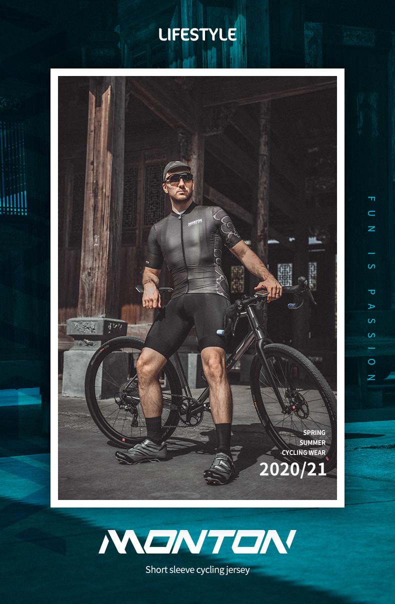 black cycling jersey mens