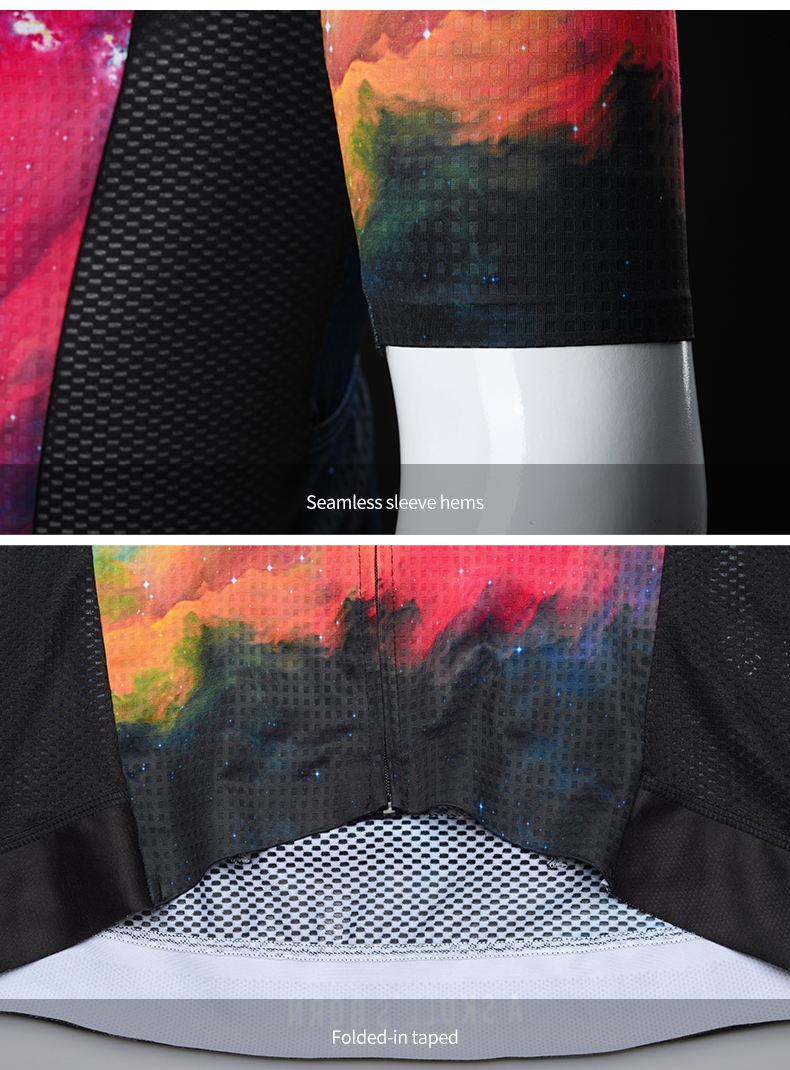 sleeves and waistband