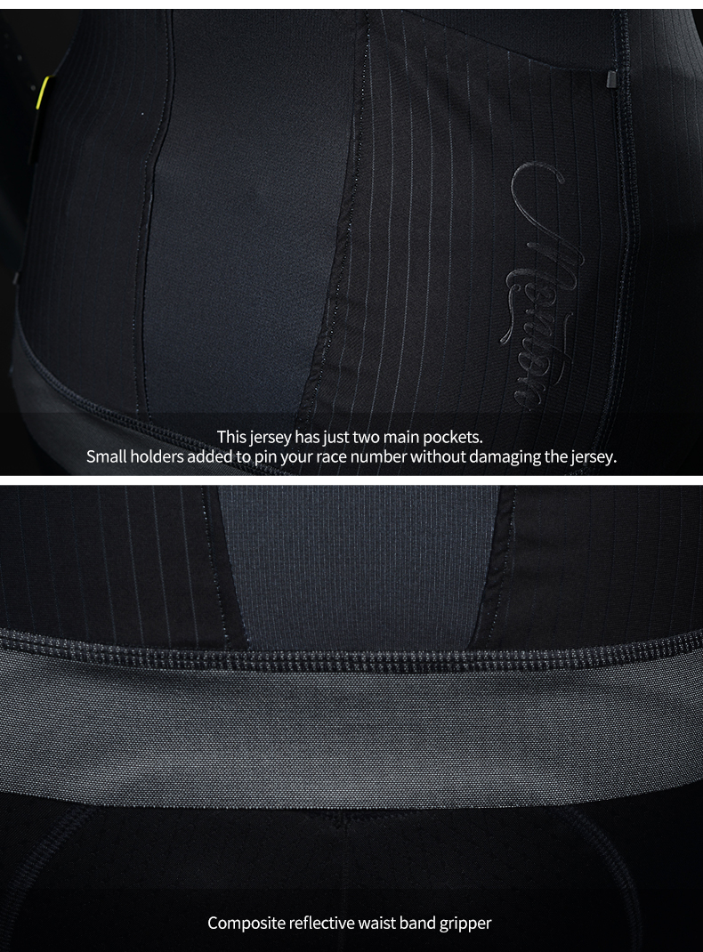 back pockets and reflective gripper