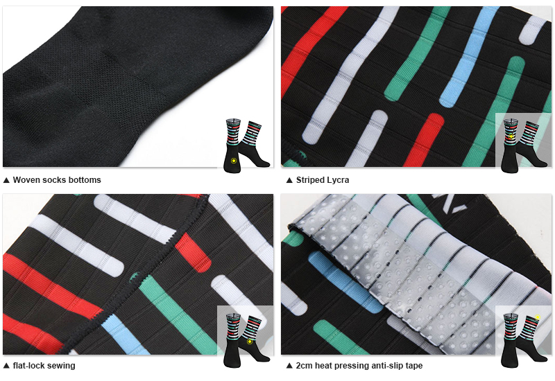 Bicycle socks fabric