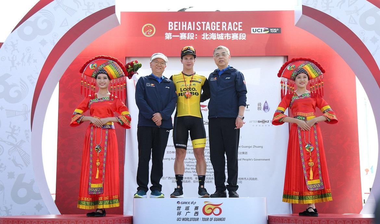Dylan Groenwegen won 2018 tour of guangxi stage 1