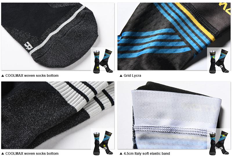 awesome cycling socks fabric