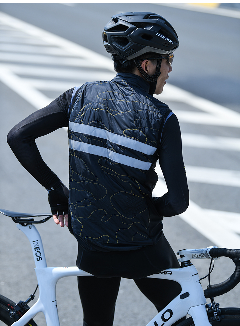 cycling insulated vest