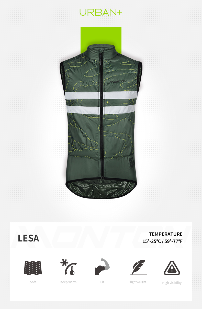 insulated cycling vest