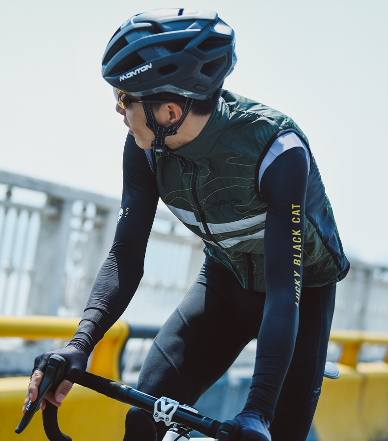 winter cycling vest
