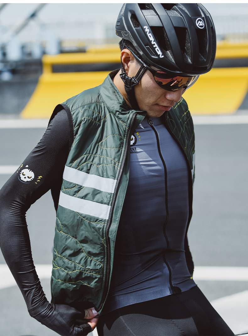 cycling winter vest