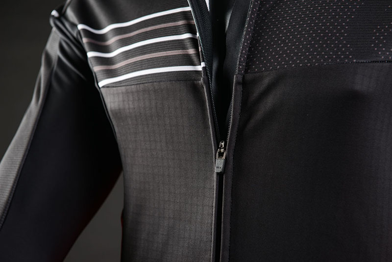 winter cycling jacket details