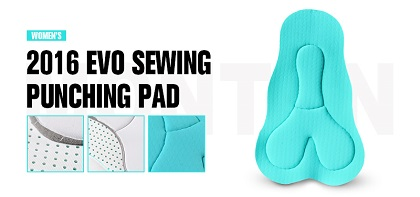 women sewing padding