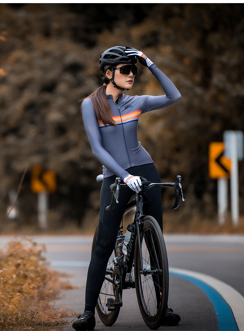 winter thermal cycling jersey
