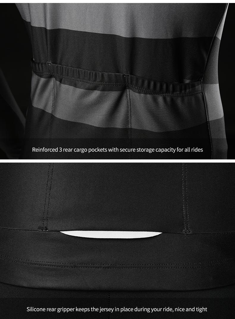 triple rear pockets