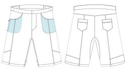 mtb bib shorts template