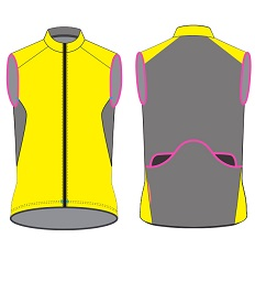 cycling vest template