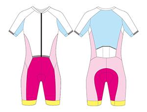 custom cycling speedsuit template