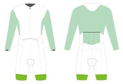 Cycling Skinsuit template