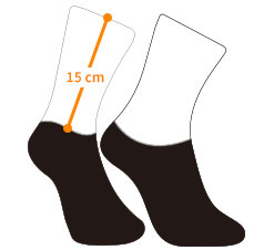 cycling socks template
